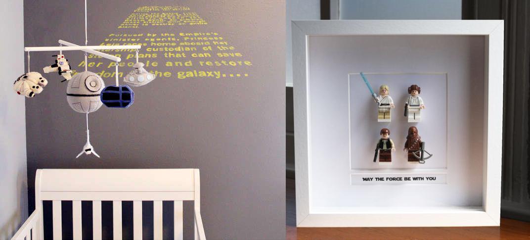 Inspirações para quarto Star Wars  Baú de Menino