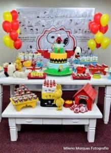 Festa Snoopy - 37 inspirações para arrasar - Baú de Menino