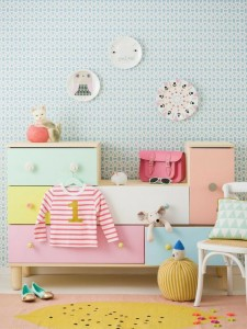 quarto infantil candy color