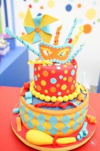 bolo festa Carnaval