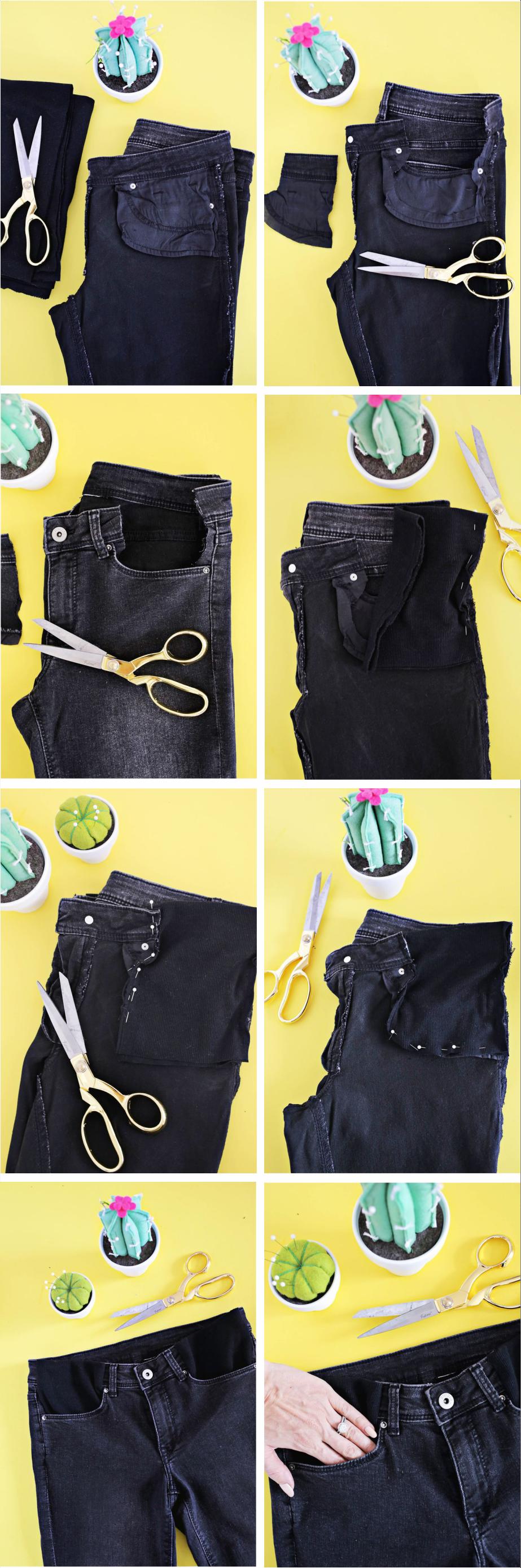 ec02bb02d Como aproveitar a sua calça jeans na gravidez - Baú de Menino