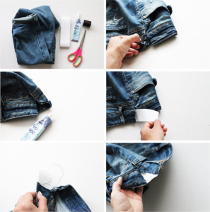 reaproveitando o jeans na gestação