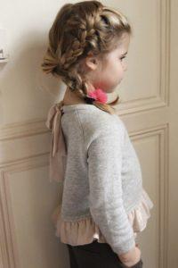 penteado Elsa Frozen
