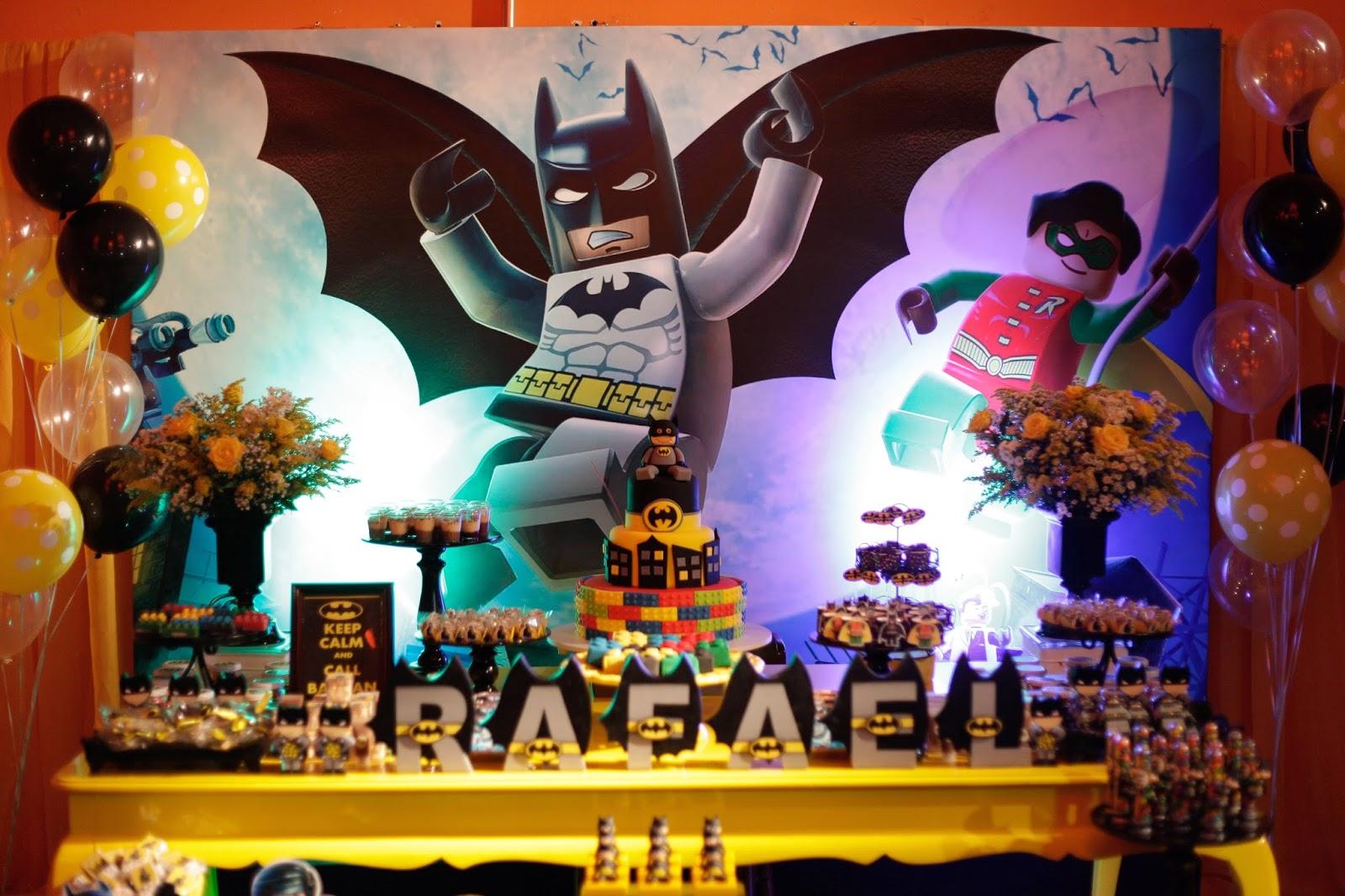 Festa Lego Batman Ba De Menino