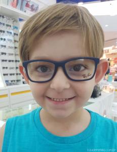meu filho precisa usar óculos