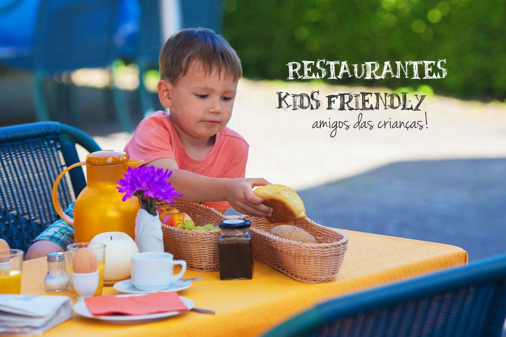 restaurante amigo da criança