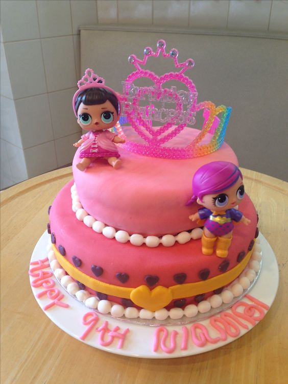 Festa lol surprise inspira es para encantar ba de menino for Arte delle torte clementoni